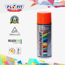 Venta al por mayor Aerosol Waterproof Car Spray Paint Fluorescent Color